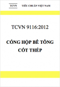 TCVN 9116:2012 Cống hộp bê tông cốt thép