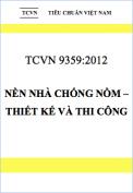TCVN 9359:2012 Nền nhà chống nồm – Thiết kế và thi công