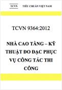 TCVN 9364:2012 Nhà cao tầng – Kỹ thuật đo đạc phục vụ công tác thi công