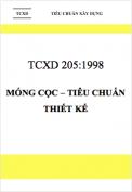TCXD 205:1998 Móng cọc – Tiêu chuẩn thiết kế