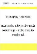 TCXDVN 320:2004 Bãi chôn lấp chất thải nguy hại – Tiêu chuẩn thiết kế
