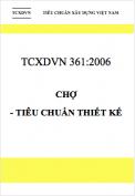 TCXDVN 361:2006 Chợ - Tiêu chuẩn thiết kế