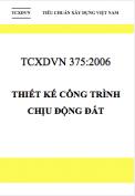TCXDVN 375:2006 Thiết kế công trình chịu động đất