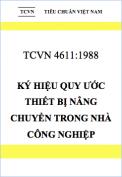 Tiêu chuẩn Việt Nam 4611:1988 Ký hiệu quy ước cho thiết bị nâng chuyển trong nhà công nghiệp