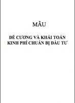 Định hình - Mẫu văn bản khác