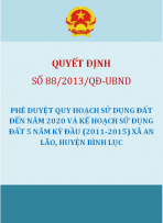 Quy hoạch xây dựng