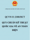 QCVN 01:2008/BCT Quy chuẩn kỹ thuật Quốc gia về an toàn điện