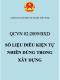QCVN 02:2009/BXD – Số liệu điều kiện tự nhiên dùng trong xây dựng (bản đầy đủ)