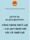 QCVN 04-05:2012/BNTPTNT – Công trình thuỷ lợi – Các quy định chủ yếu về thiết kế