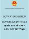 QCVN 07:2012/BKHCN – Quy chuẩn kỹ thuật quốc gia về thép làm cốt bê tông