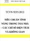 TCVN 9255:2012 Tiêu chuẩn tính năng trong toà nhà – Định nghĩa, phương pháp tính các chỉ số diện tích và không gian