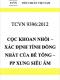 TCVN 9396:2012 Cọc khoan nhồi – Xác định tính đồng nhất của bê tông – Phương pháp xung siêu âm