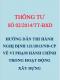 Thông tư số 02/2014/TT-BXD Hướng dẫn thi hành Nghị định 121/2013/NĐ-CP về xử phạt hành chính trong hoạt động xây dựng