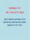Thông tư số 15/2010/TT-BXD Quy định lập báo cáo đánh giá hồ sơ dự thầu dịch vụ tư vấn