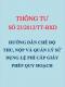 TT 23/2012/TT-BTC Hướng dẫn chế độ thu, nộp và quản lý sử dụng lệ phí cấp giấy phép quy hoạch