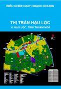 Điều chỉnh cục bộ quy hoạch chung thị trấn Hậu Lộc, huyện Hậu Lộc, tỉnh Thanh Hóa đến năm 2025
