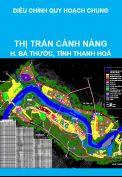 Điều chỉnh, mở rộng quy hoạch chung thị trấn Cành Nàng, huyện Bá Thước, tỉnh Thanh Hoá