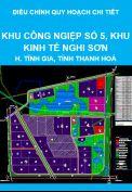 Điều chỉnh quy hoạch chi tiết tỷ lệ 1/2000 (nay là quy hoạch phân khu) Khu công nghiệp số 5, Khu kinh tế Nghi Sơn, huyện Tĩnh Gia, tỉnh Thanh Hoá