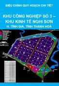 Điều chỉnh quy hoạch chi tiết tỷ lệ 1/2000 (nay là quy hoạch phân khu) Khu công nghiệp số 3, Khu kinh tế Nghi Sơn, huyện Tĩnh Gia, tỉnh Thanh Hoá