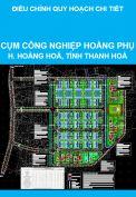 Điều chỉnh quy hoạch chi tiết tỷ lệ 1/500 cụm công nghiệp Hoằng Phụ, huyện Hoằng Hoá, tỉnh Thanh Hoá