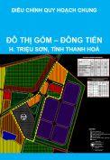 Điều chỉnh quy hoạch chung đô thị Gốm – Đồng Tiến, huyện Triệu Sơn, tỉnh Thanh Hoá đến năm 2025