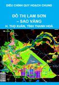 Điều chỉnh Quy hoạch chung đô thị Lam Sơn – Sao Vàng, huyện Thọ Xuân đến năm 2030, tầm nhìn sau năm 2030