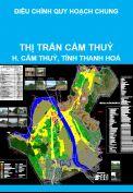 Điều chỉnh quy hoạch chung thị trấn Cẩm Thuỷ, huyện Cẩm Thuỷ, tỉnh Thanh Hoá đến năm 2025