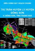 Điều chỉnh quy hoạch chung thị trấn huyện lỵ huyện Đông Sơn, tỉnh Thanh Hoá đến năm 2030