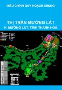 Điều chỉnh quy hoạch chung xây dựng thị trấn Mường Lát, huyện Mường Lát, tỉnh Thanh Hoá đến năm 2025