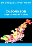 Điều chỉnh quy hoạch nông thôn mới xã Đông Sơn, huyện Chương Mỹ, thành phố Hà Nội giai đoạn 2011-2020