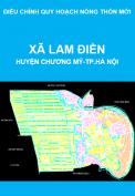 Điều chỉnh quy hoạch nông thôn mới xã Lam Điền, huyện Chương Mỹ, thành phố Hà Nội giai đoạn 2011-2020