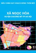 Điều chỉnh quy hoạch nông thôn mới xã Ngọc Hòa, huyện Chương Mỹ, thành phố Hà Nội giai đoạn 2011-2020