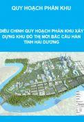 Điều chỉnh Quy hoạch phân khu đô thị mới Bắc Cầu Hàn, tỉnh Hải Dương tỷ lệ 1/2000