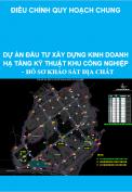 Dự án đầu tư xây dựng kinh doanh hạ tầng kỹ thuật khu công nghiệp  – Hồ sơ khảo sát địa chất