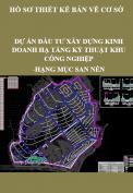 Dự án đầu tư xây dựng kinh doanh hạ tầng kỹ thuật khu công nghiệp- Hạng mục: San nền