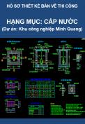 Hạng mục Cấp nước (Dự án Khu công nghiệp Minh Quang)