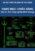 Hạng mục: Chiếu sáng (Dự án Thi công Khu công nghiệp Minh Quang)