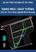 Hạng mục Giao thông (Dự án Khu công nghiệp Minh Quang)
