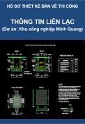Hạng mục: Thông tin liên lạc (Dự án Thi công Khu công nghiệp Minh Quang)