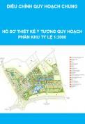 Hồ sơ thiết kế ý tưởng quy hoạch phân khu tỷ lệ 1:2000 Bắc An Khánh – Thành phố Mới – Xã An Khánh, Huyện Hoài Đức – Thành Phố Hà Nội