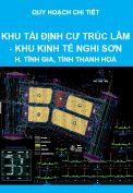Quy hoạch chi tiết 1/500, Khu tái định cư Trúc Lâm - Khu kinh tế Nghi Sơn, huyện Tĩnh Gia, tỉnh Thanh Hoá