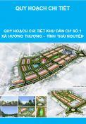Quy hoạch chi tiết Khu dân cư số 1, xã Huống Thượng, tỉnh Thái Nguyên