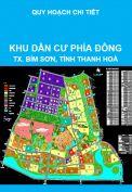 Quy hoạch chi tiết khu dân dụng phía Đông thuộc phường Đông Sơn + Lam Sơn, thị xã Bỉm Sơn, tỉnh Thanh Hoá