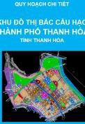 Quy hoạch chi tiết Khu đô thị Bắc Cầu Hạc, thành phố Thanh Hóa tỷ lệ 1/2000