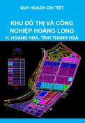 Quy hoạch chi tiết khu đô thị và công nghiệp Hoằng Long, huyện Hoằng Hoá, tỉnh Thanh Hoá