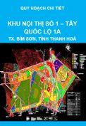 Quy hoạch chi tiết khu nội thị số 1 – Tây quốc lộ 1A, thị xã Bỉm Sơn, tỉnh Thanh Hoá