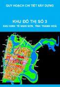 Quy hoạch chi tiết Khu số 3, Đô thị Trung tâm Khu kinh tế Nghi Sơn, tỉnh Thanh Hoá