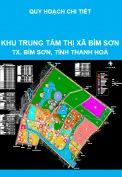 Quy hoạch chi tiết khu trung tâm thị xã Bỉm Sơn, tỉnh Thanh Hoá