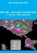 Quy hoạch chi tiết tỷ lệ 1/2000 Đảo Mê, Khu kinh tế Nghi Sơn theo hướng kết hợp quốc phòng với phát triển kinh tế - xã hội