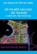 Quy hoạch chi tiết xây dựng đô thị mới Cầu Cao – Đô thị Nhồi, huyện Đông Sơn, tỉnh Thanh Hoá